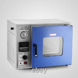 23L Vacuum Drying Oven 0.9Cu 480°F Lab Vacuum Air Convection Laboratory
