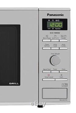 23 Liter 1000W Stainless Steel Panasonic NN-SD27HSBPQ Inverter Microwave Oven