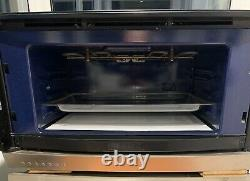 70cm Gaggenau Microwave Oven LH hinge Black Glass / Stainless steel