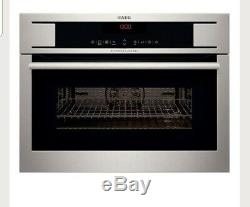 AEG KM8403101M Built In Combi Microwave oven STAINLESS STEEL new RRP £699
