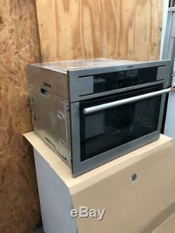 AEG KM8403101M Competence Compact Combination Microwave Oven