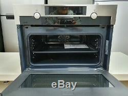 AEG KME561000M 1000W CombiQuick Compact Built In Oven with Microwave & Grill