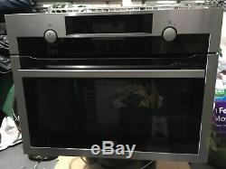 AEG KME561000M Combiquick Compact Built-in Oven Microwave Stainless Steel HA1934