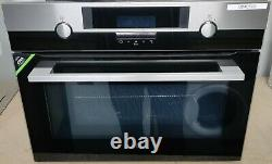 AEG KME561000M Compact Built-In Oven with Microwave Stainless Steel Grade A