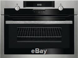 AEG KME561000M Integrated Combiquick Combination Microwave Compact Oven