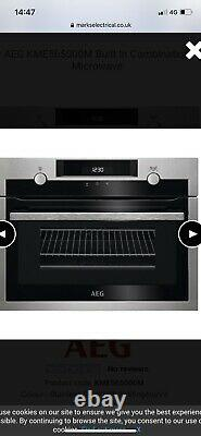 AEG KMK565000M Compact Microwave Combination Oven