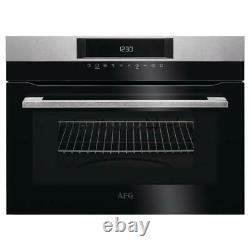 AEG KMK721000M Built In Combination Microwave and Grill Stainless Steel REFURBIS