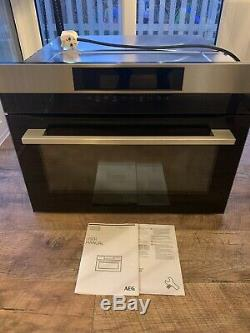 AEG KMK721000M Built in Compact Microwave Oven Grill