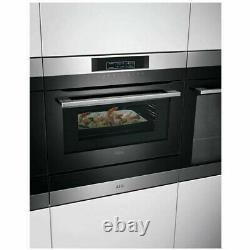 AEG KMK761000M CombiQuick 1000W Compact Microwave Combi Oven Stainless Steel