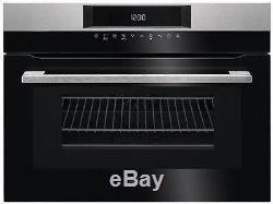 AEG KMK761000M CombiQuick 43L 1000w Combination Microwave & Compact Oven