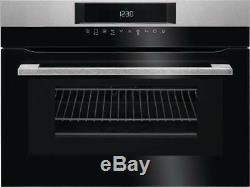 AEG KMK761000M Combo Microwave & Compact Oven in Stainless Steel A114814