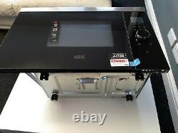 AEG MBB1756SEM Built in Microwave Black/Stainless Steel
