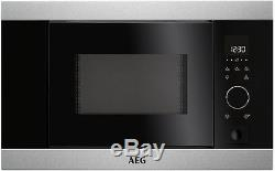 AEG MBB1756S-M Built In Microwave Stainless Steel HA1485