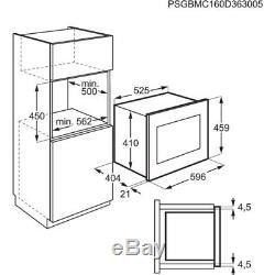 AEG MBE2658S-M Built In Microwave Stainless Steel HA1711