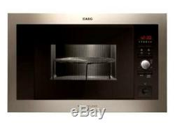 AEG MCD1763E-M integrated 17L Microwave Oven 1000w Grill Stainless Steel