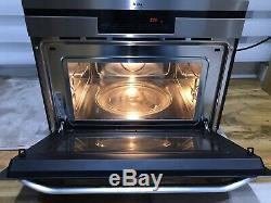 AEG MCD3881E-M Built-In Microwave Combination Device Grill Stainless 60cm 1500W