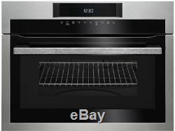 AEG Mastery KME721000M 1000 Watt Built In Microwave With Grill Stainless Steel
