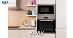 BEKO MGB25332BG Built-in Kitchen Microwave + Grill 25L, 900W-1000W New