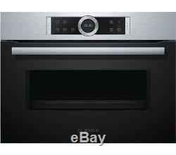 BOSCH Bosch CFA634GS1B Solo Microwave Stainless Steel Currys