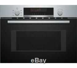 BOSCH CMA583MS0B Built-in Combination Microwave Stainless Steel
