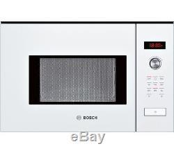 BOSCH Serie 6 HMT75M624B Built-in Solo Microwave White