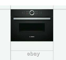 BOSCH Serie 8 CMG633BB1B Built-in Combination Microwave, RRP £899