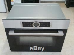 BOSCH Serie 8 CMG633BS1 Built-In Integrated Combination Microwave Oven, RRP £899