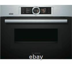 BOSCH Serie 8 CMG676BS6B Built-in Smart Combination Microwave Stainless -D A O