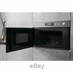 BRAND NEW Hotpoint MN314IXH Wall Mount Built-in 22 Litre Microwave Oven/Grill