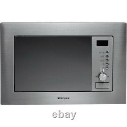 BRAND NEW Hotpoint MWH122.1X Built-in 20 Litre Microwave Oven with Grill