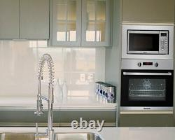Baumatic BYMM204SS Built in 20L Stainless Steel Microwave 2 Year Warranty