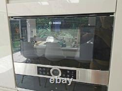 Bosch BFL634GS1B 21L 900W Built-in Microwave Oven Brushed Steel