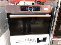 Bosch CMG633BS1B Compact Built-In Combi Microwave Oven Stainless Steel