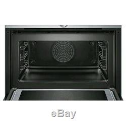Bosch CMG633BS1B Compact Built-In Combi Microwave Oven Stainless Steel Brand new