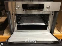 Bosch Cma585gs0b Serie 6 Compact Combi Oven Microwave With Fan+grill S/steel