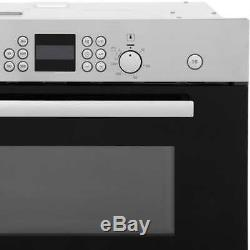 Bosch HBC84H501B Serie 6 900 Watt Microwave Built In Brushed Steel New from AO