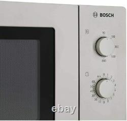 Bosch HMT72M450B 17L 800W Microwave in Brushed Steel 2 Year Warranty