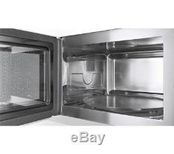 Bosch HMT75M654B Exxcel Built In 20L 800 Watt Microwave Brushed Steel / Black