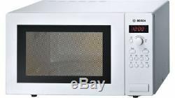 Bosch HMT84M421B 25L 900W Microwave in White 2 Year Warranty