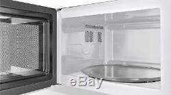 Bosch Serie 2 HMT84M451B 25L 900W Microwave in Brushed Steel 2 Year Warranty