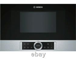 Bosch Serie 8 BFR634GS1 Built In Microwave Oven Stainless Steel 21L Genuine NEW