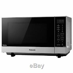 Box Opened NN-SF464MBPQ Flatbed Solo Microwave 27L 1000W E Rated Silver