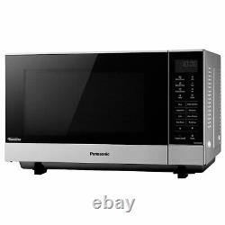 Brand New NN-SF464MBPQ Flatbed Solo Microwave 27L 1000W E Rated Silver