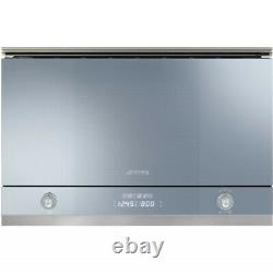 Brand New Smeg MP122 60cm Silver'Linea' Microwave Oven & Grill RRP £589