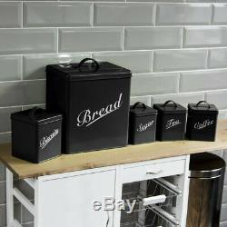 Breville Kettle and Toaster Set & Russell Hobbs Microwave & Canister Set Black