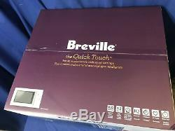 Breville the Quick Touch 1.2 Cu. Ft. Mid-Size Microwave withSmart Settings 1100w