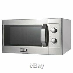 Buffalo CMWO 1100W Manual Commercial Microwave Kitchen Catering Equipment