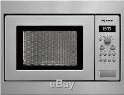 Built-In Microwave Oven Neff N 30 HW5350N (H53W50N3), Stainless Steel