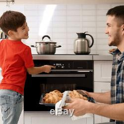 Built-in microwave oven 60cm, steam cooker, hot air grill, touch, Display, Timer