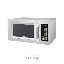 Chefmaster 1000 watt 25 litre Microwave HEB082 Catering Commercial